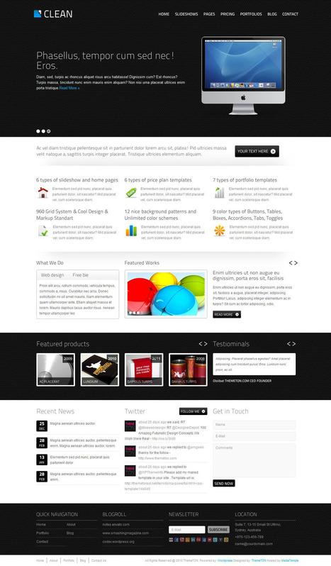 Temi Wordpress Professionali: Scarica qui entro febbraio questo tema da ThemeForest | Wordpress themes plugin tips | Scoop.it
