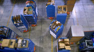 """#Video shows How High-Speed #Robots prepare online orders in """"Human Exclusion Zone"""" Warehouses via @wired 
