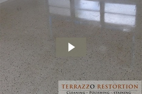 Terrazzo Floor Cleaning - Fort Lauderdale, Miami, Palm Beach Area | Terrazzo Restoration | Scoop.it