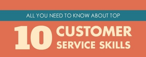 [INFOGRAPHIC] The Top 10 Customer Service Skills You Need to Have | Customer Experience, Satisfaction et Fidélité client | Scoop.it