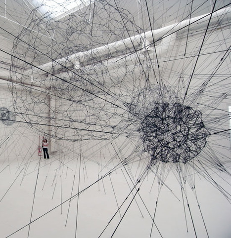 Sociology and Complexity Science blog: Tomas Saraceno Complexity Art and Networks | Complejidad en Blogs | Scoop.it