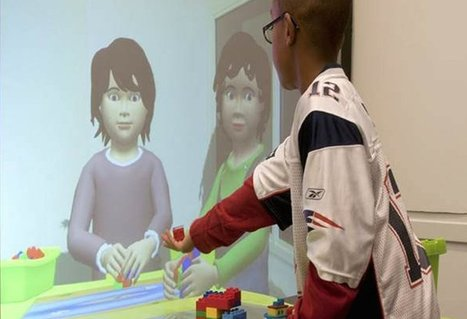 Virtual cartoon children look like a great way to teach kids | Education Technology | Scoop.it