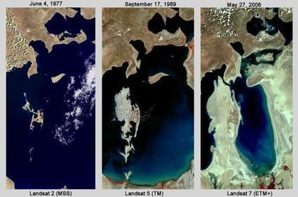 Changes Over Time:  Aral Sea | Remote Sensing News | Scoop.it