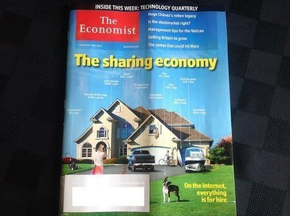 The Economist place « l'économie du partage » sur sa couverture | Louez en confiance à votre réseau d'amis | Scoop.it