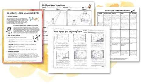 Animation Storyboarding Kit - FableVision Learning | DENvice: Spring VirtCon | Scoop.it