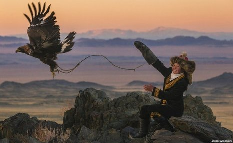 A 13-year-old eagle huntress in Mongolia | READ | WATCH | LISTEN | Scoop.it