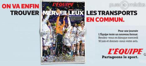 «L'Equipe», paraît ce mercredi au format tabloïd | My blog, Xavier Delaporte Photographie | Scoop.it