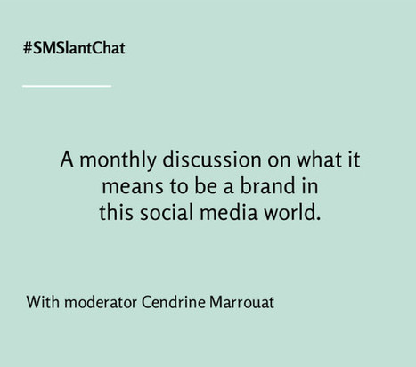Announcing #SMSlantChat, my new monthly Twitter chat! | Business in a Social Media World | Scoop.it