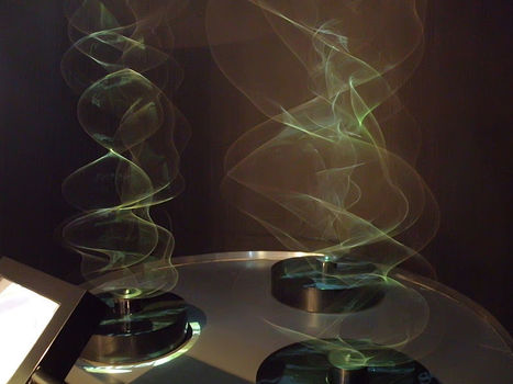 Paul Friedlander: A triptych, three kinetic waveforms | Interactive Arts | Scoop.it