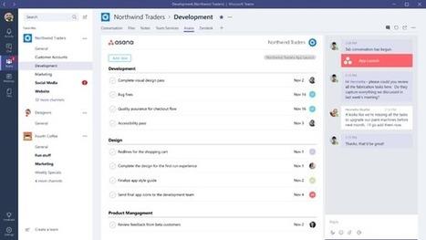 Microsoft Teams: est-il mieux que Slack? | Innovation | Scoop.it