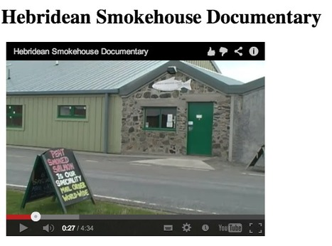 CLILstore resources: Hebridean smokehouse documentary | TELT | Scoop.it