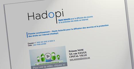 Hadopi : explosion du nombre de courriers postaux envoyés !   Libertés Numériques   Scoop.it
