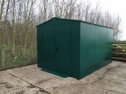 A New Shed For Our Organic Animal Feed - Wackley Brook | Claire Broadley's articles | Scoop.it