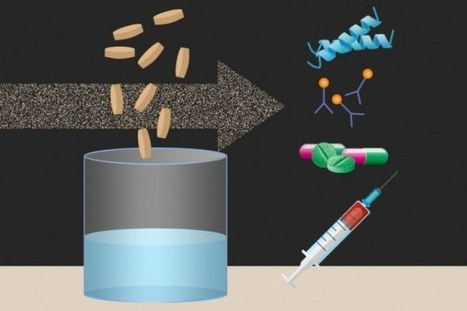 MIT-Led Team Creates Freeze-Dried Cellular Components to Produce Biopharmaceuticals on Demand | SynBioFromLeukipposInstitute | Scoop.it