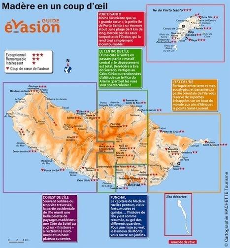 Madère : fiche pratique et carte   Guide évasion   Guide de voyage   Scoop.it