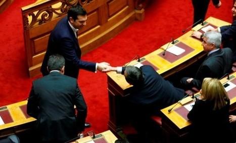 Ο Αντώνης Σαμαράς δεν σηκώθηκε να χαιρετήσει τον Τσίπρα | Politically Incorrect | Scoop.it