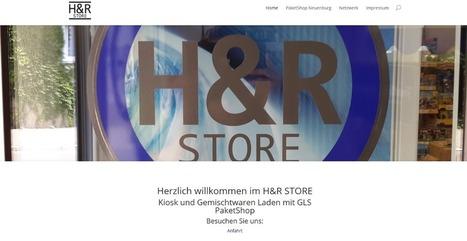 H&R STORE Kiosk Gemischtwaren und Paket Shop | Mennetic Design | Scoop.it