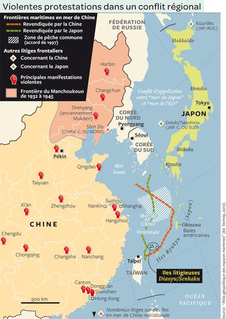 Les îles Senkaku/Diaoyu : horizon permanent du nationalisme japonais et chinois | Histoire geo Terminale (programmes 2012) | Scoop.it