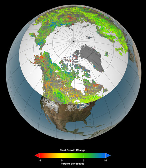 NASA: Amplified Greenhouse Effect Shifts North's Growing Seasons | Amazing Science | Scoop.it