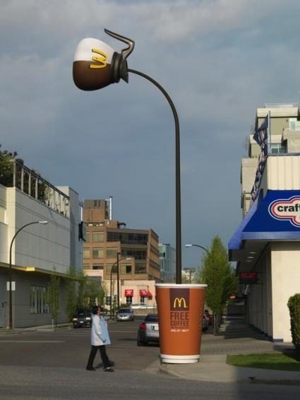 12 opérations de street marketing par McDonald's - via @Guillaume11 | Campaigning | Scoop.it