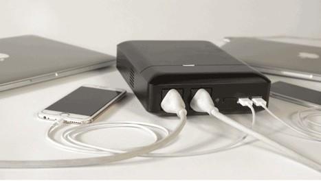 PLUG, batería externa de 48.000 mAh con tomas de corriente para enchufes y puertos USB | Las TIC en el aula de ELE | Scoop.it