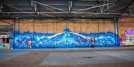 Watch Street Artists Transform An Empty Building Into A Graffiti Masterpiece | Strange days indeed... | Scoop.it