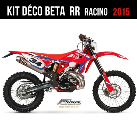 kit d 233 co perso pour beta rr racing 2015