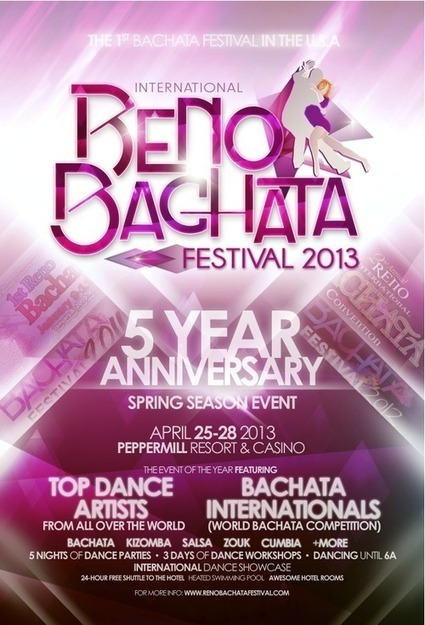 Celebrating 5 Great Years of Bachata Festivals in Reno, NV. - Wandering Salsero | The State of Bachata | Scoop.it