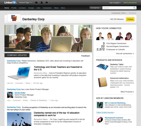 LinkedIn Redesigns Company Pages to Highlight Brand Strengths | Brand Marketing & Branding | Scoop.it