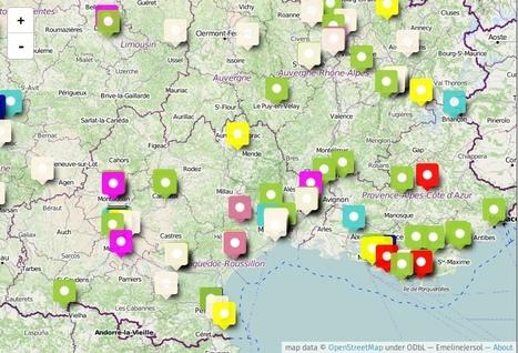 Tutoriels : créer une carte personnalisée avec umap | TICE, Web 2.0, logiciels libres | Scoop.it
