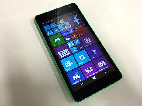 (test) Microsoft Lumia 535, le petit smartphone qui a (presque) tout ... - Presse-citron | Informatique Marketing | Scoop.it