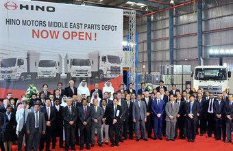 Hino Motors opens parts depot at DWC | Global Logistics Trends and News | Scoop.it