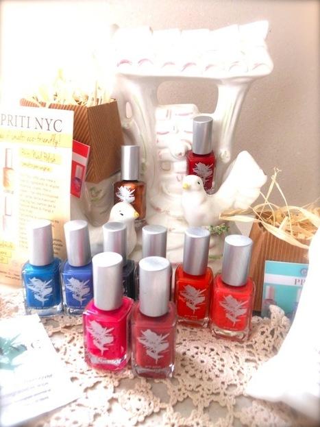 THE FASHIONAMY by Amanda: Beauty Blogger Review, ecofriendly nail polishes, i love Priti NY | fashion jewelry | Scoop.it