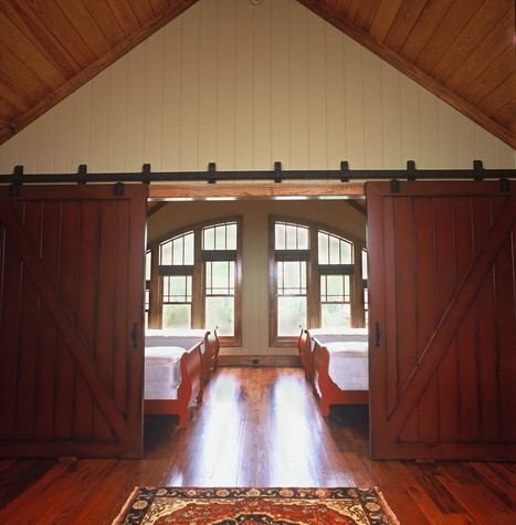 Bunkrooms & Barn Doors | Mountain Home Architects, Timber ... | Barn Doors for Inside the Home | Scoop.it