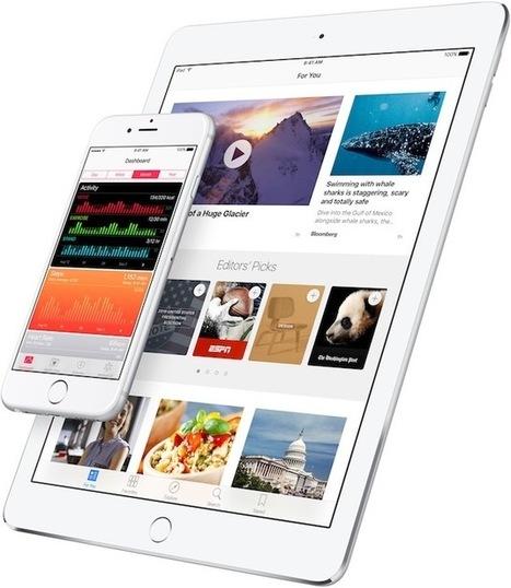 iOS 9.3 se prépare avec des nouveautés majeures   Applications Iphone, Ipad, Android et avec un zeste de news   Scoop.it
