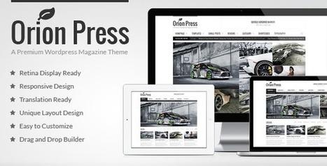Orion Press - Retina and Responsive Magazine Theme - WordpressThemeDB   Plenty of savings   Scoop.it