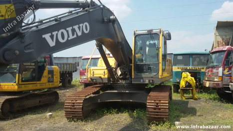 Buy Volvo Equipment Used or New Online At Infra bazaar   Used Equipment and Machinery   Scoop.it