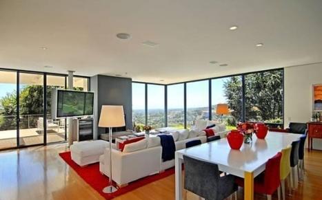 Qui habite cette demeure moderne de Bel Air? | Maisons de stars | Scoop.it