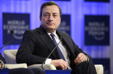 Draghi Chasing Europe Growth Seen Justifying ECB Rate Pause | World Economies | Scoop.it