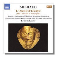 Classical Net Review - Milhaud - The Oresteia of Aeschylus | OperaMania | Scoop.it