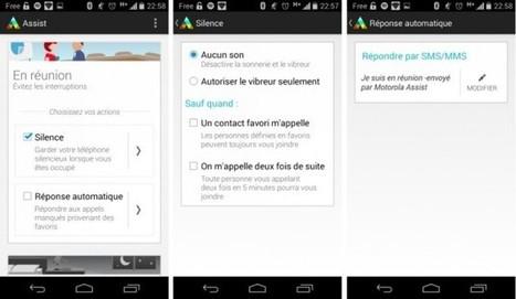 Motorola Assist 1.3 : répondez aux SMS entrants par la voix sur Moto G | ReScoop | Scoop.it
