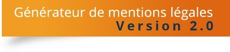 Générateur de mentions légales gratuit | Time to Learn | Scoop.it
