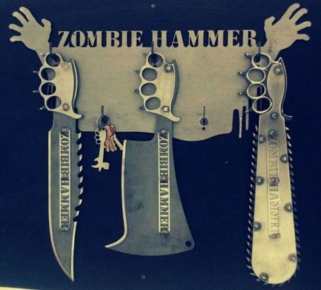 Awesome Anti-Zombie Knives from Zombiehammer (6 pics ... | News coutellerie internationale | Scoop.it
