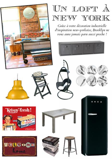 Style déco New York | Mobilier et objets industriels | Scoop.it