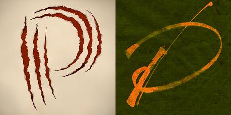 Lettering versus Calligraphy, a battle between Martina Flor & Giuseppe Salerno   Farbstaben   Scoop.it