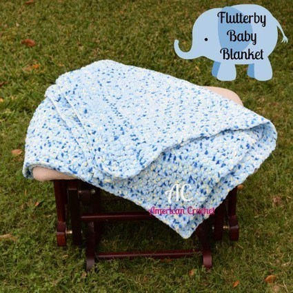 Flutterby Baby Blanket | Crochet | Scoop.it