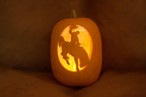 Wyoming Jack O'Lantern | Horse and Rider Awareness | Scoop.it