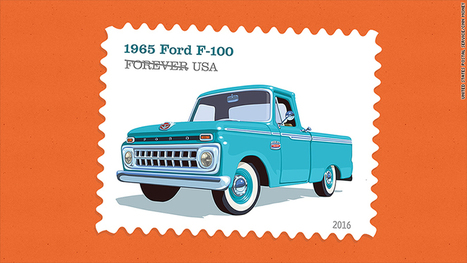 Pickup trucks honored on postage stamps | Entrepreneurship | Scoop.it