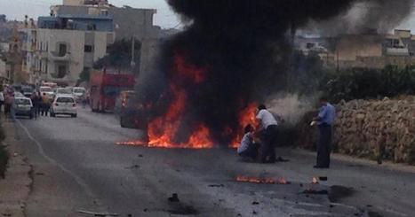 Three people injured in car bomb explosion - Times of Malta | Mitsubishi Pajero | Scoop.it