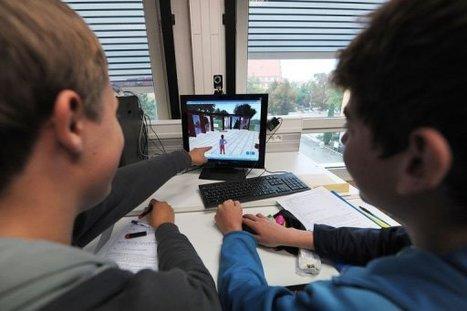 Un prof bâtit un monde virtuel pour attirer des lycéens vers les sciences   Logicamp.org   Scoop.it